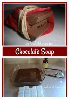 DIY Chocolate Soap -