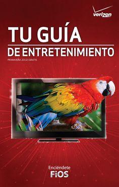 Verizon's Spanish Your Guide magazine cover art from spring 2011      #Verizon #Spanish #YourGuide #magazine