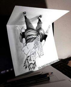 Optical Illusions Drawings Illusion Drawings 3d Street Art 3d Pencil Drawings Naruto