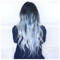 Immagine di hair, blue, and hairstyle