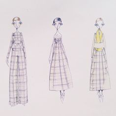 Delpozo Sketches