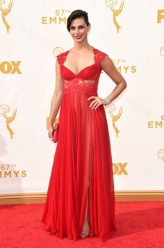 Look Back at the Fan-Frickin'-Tabulous Emmys Outfits From Last Year Morena Baccarin