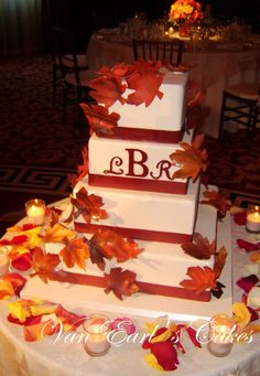 Fall Wedding Cakes - Bing Images