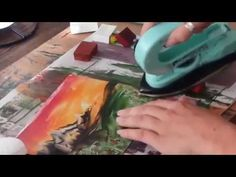 Encaustic art by Sanna J Nolte - YouTube