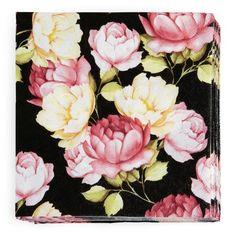 Servietter 20-pk Floral Wreath, Wreaths, Rose, Kitchen, Home Decor, Deko, Cooking, Homemade Home Decor, Pink