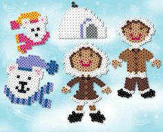 Eskimo Pals and lots of other patterns for Perler Beads