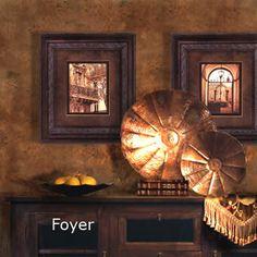 Foyer.. like the walls!