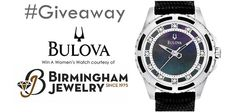 Win a Bulova Mens or Womens Watch from Free in Detroit Giveaway Courtesy  Birmingham Jewelry