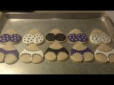 How to Make Lingerie Sugar Cookies