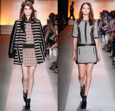 Colcci 2014 Winter Southern Hemisphere Womens Runway Collection - São Paulo Fashion Week Brazil - Inverno 2014 Mulheres Desfiles - Dark Wash...