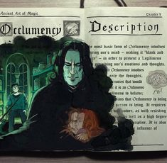 'Occlumency spell' with Severus Snape Harry Potter illustration by Gabriel Picolo Fanart Harry Potter, Harry Potter Diy, Mundo Harry Potter, Harry Potter Universal, Harry Potter World, Harry Potter Journal, Illustrations Harry Potter, Harry Potter Drawings, Severus Rogue