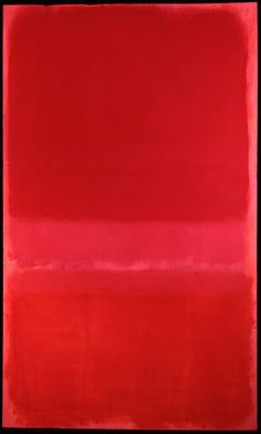 Abstract - Rothko....LOVE color field paintings