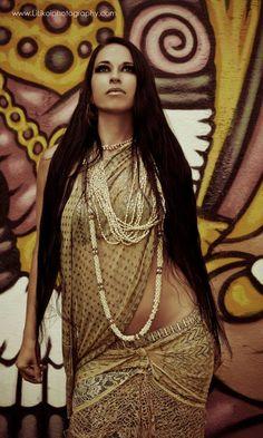Kalae Kaina of Hawaii's beautiful and talented Shakti Dance Movement / LiLikoi Photography / Tribal fusion belly dance