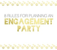 Planning an engagement party? You might be wondering who hosts, where it is held, and when you should have an engagement party. There are so many questions when it comes to engagement party plannin...