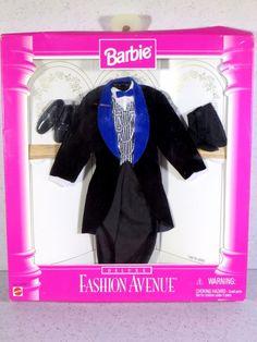 Barbie Doll Fashion 1999 Fashion Avenue Deluxe Ken Suit   eBay