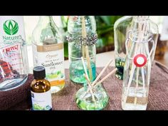 Home & Family - How to Make Non-Toxic Fragrance Diffuser Sticks - YouTube