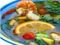 Hot and Sour Thai Orange Fish Soup Recipe
