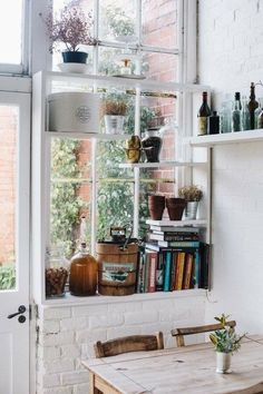 Window Shelving