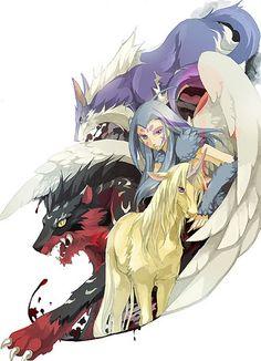 Twelve Kingdoms Me Me Me Anime, Anime Guys, The Twelve Kingdoms, Mythological Creatures, Female Art, Kawaii Anime, Comic Art, Anime Art, Character Design
