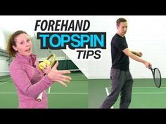 (27) How To: 3 Tips to IMPROVE Forehand Topspin Technique - YouTube