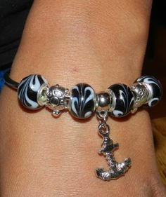 European Style Silver Charm Bangle a perfect gift for any occasion