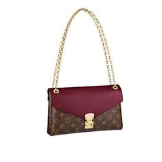 Louis Vuitton Pallas Chain Handbag Shoulder Bag Purse