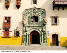 Columbus House(Casa de Colon)  Las Palmas  Canary Islands  Spain.