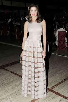 The NYC Ballet Fall Gala Honors Valentino - Stephanie Seymour in Alaia