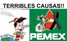 10 PEORES causas de la QUIEBRA de PEMEX. // El Nopal Times #ENT 146
