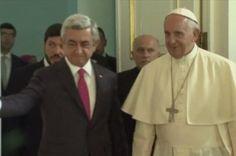 Papa Francis, Sarkisyan ile görüştü
