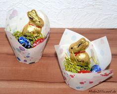 Muffin Ostern DIY Osterhase Osternest