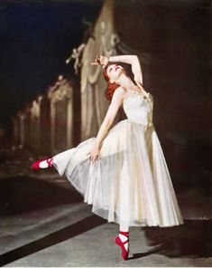 """Maybe the prettiest movie ever made in color...Powell and Pressburger's """"The Red Shoes"""".  http://www.helium.com/items/2222586-movie-reviews-the-red-shoes-1948"""