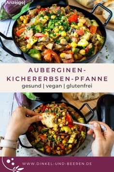 Vegan, Chickpeas, Berries, Healthy Food Recipes, Kid Cooking, Healthy Dishes, Stew, No Sugar, Lunches