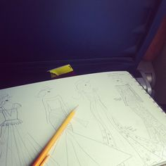 Sketching on the plane ride