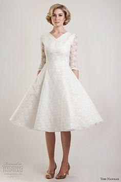 plus size wedding dresses for older brides | Plus Size Wedding Dresses With Sleeves Tea Length