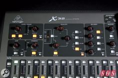 Behringer DIGITAL MIXER X32  40-Input, 25-Bus Digital Mixing Console with 32 Programmable MIDAS Preamps, 25 Motorized Faders, Channel LCD's, 32-Channel Audio Interface and iPad/iPhone* Remote Control  ЦЕНА: 169.900 ДЕН