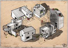 Gueto Arquitectónico on Behance