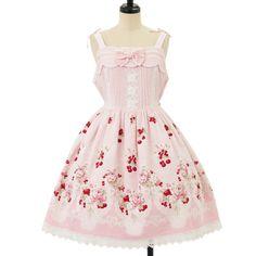 チェリーブーケジャンパースカート ロリィタファッション BABY THE STARS SHINE BRIGHT (4990 yen)