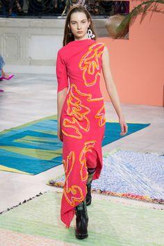 Peter Pilotto Fall 2017 Ready-to-Wear Fashion Show - Zhenya Migovych