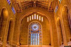 Temple Emanuel in NYC is the largest Reformed Temple in the US and is a beautiful spiritual place on the upper west side.