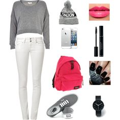"""look school"" by princesajessii2 on Polyvore"