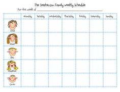Stickfigure schedule (seems DIY-able?)