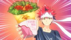 Kara-age A l'image de notre nouveau fond, je me suis inspirée de cette anime culinaire qui fait parler de lui : Food Wars ! Pourquoi le Kara-age alors qu'il y a