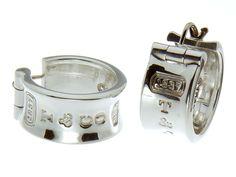Tiffany & Co. 1837 Wide Hoop Earrings