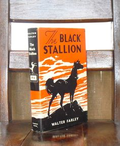 Children's Books, The Black Stallion, Beloved Fictional Horse, Walter Farley, Vintage Book, Literary Gift, Illustrated by Keith Ward, Gift by AgsVintageCove on Etsy