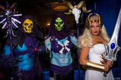 #Cosplay Masters of the Universe: She-Ra & #Skeletor - Constantine In Tokyo