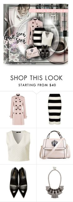 """Que Sera Sera"" by amymrbll ❤ liked on Polyvore featuring Burberry, Milly, Relaxfeel, Yves Saint Laurent and Sole Society"