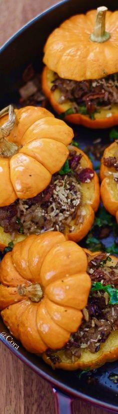 Stuffed Mini #Pumpkins
