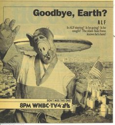 Alf Advert