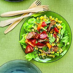 Sausage and corn salad - Chatelaine Recipes